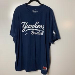 Nike New York yankees t shirt mens xl